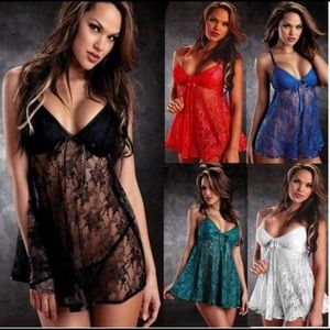 Other - Sexy Babydoll Lingerie Set